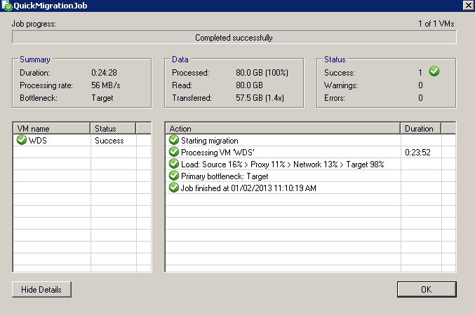 """Veeam Quick Migration"""" how do you use it? – Rick's Tech Gab"""