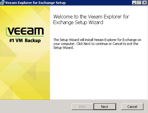 veeam explorer for microsoft exchange